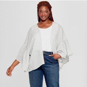 Universal Threads Kimono Jacket Women's Plus Size